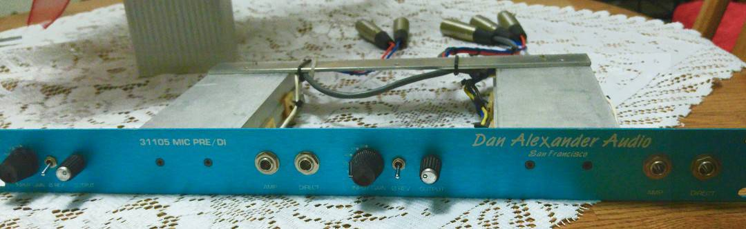 Dan Alexander Audio 31105 Pre Amp package