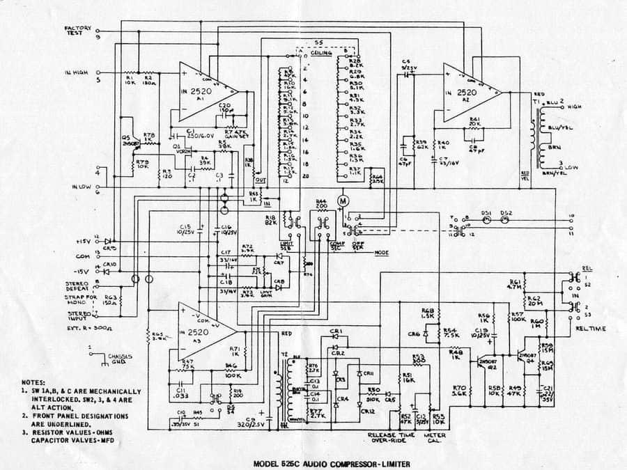 API 525C Schematic