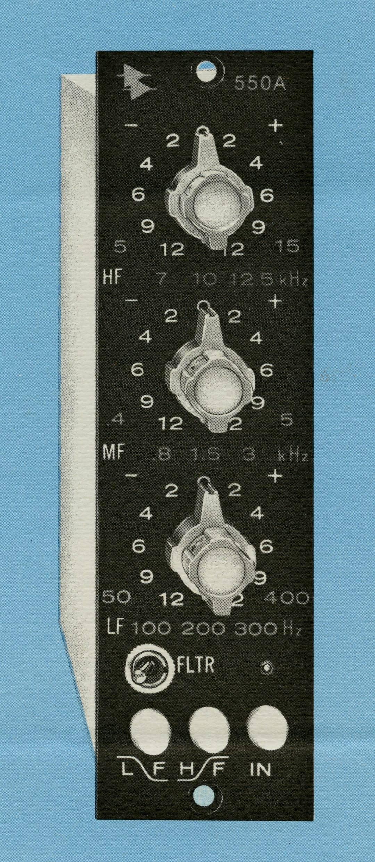 API 550A Equalizer