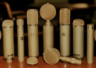 Geffel East German Neumann Microphones