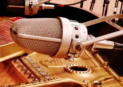 Neumann M49s Recording Piano