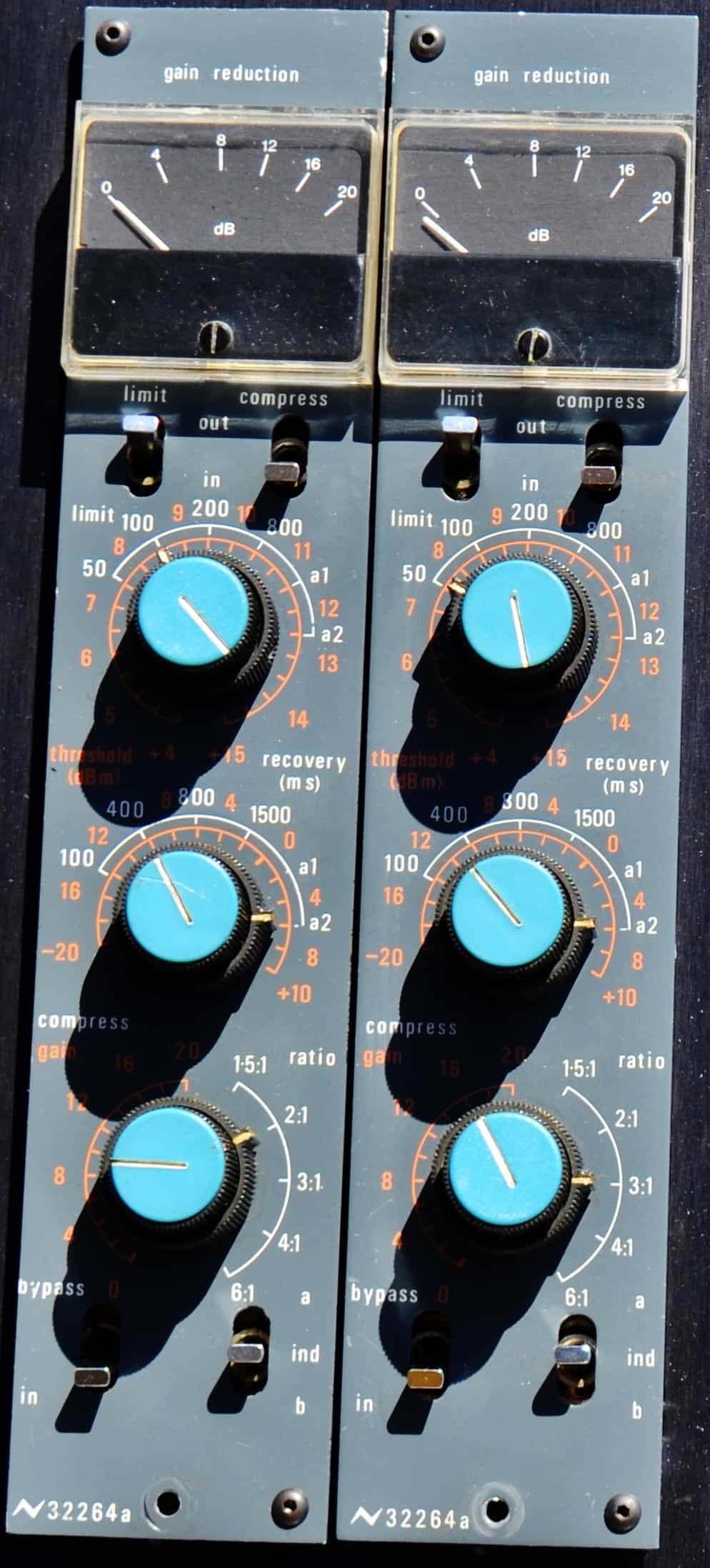 Neve-32264a Compressor/Limiter - Dan Alexander Audio