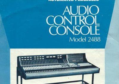 API 2488 Console Advertisement