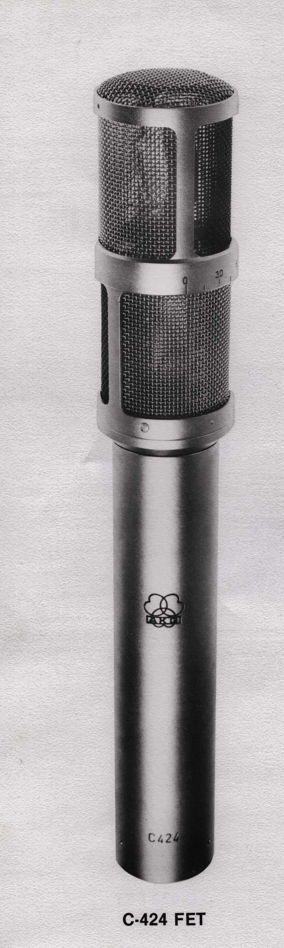 AKG C424 Quadraphonic Condenser Microphone