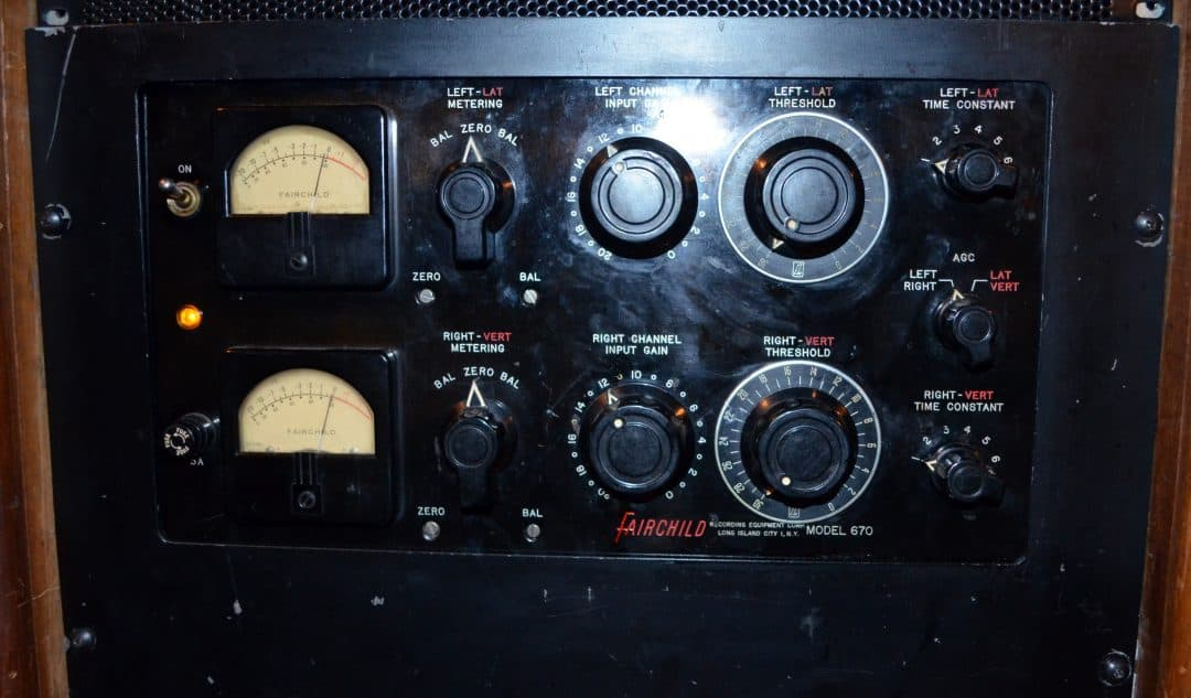 Fairchild 670 Compressor