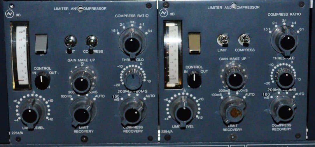 Neve 2254 A Compressors
