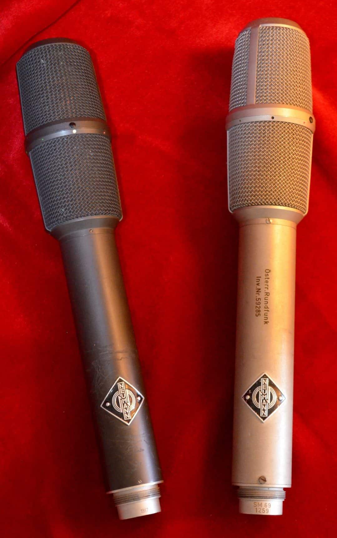 Neumann SM69 Stereo Condenser Microphones