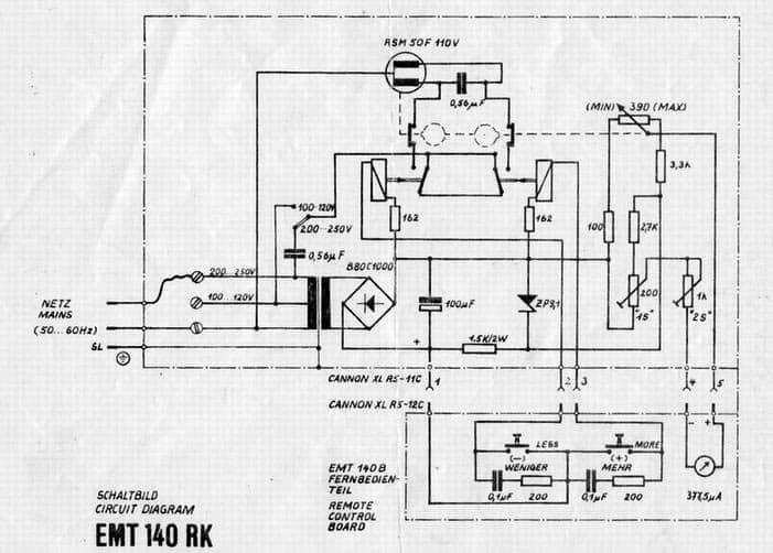 EMT 140 RK Schematic