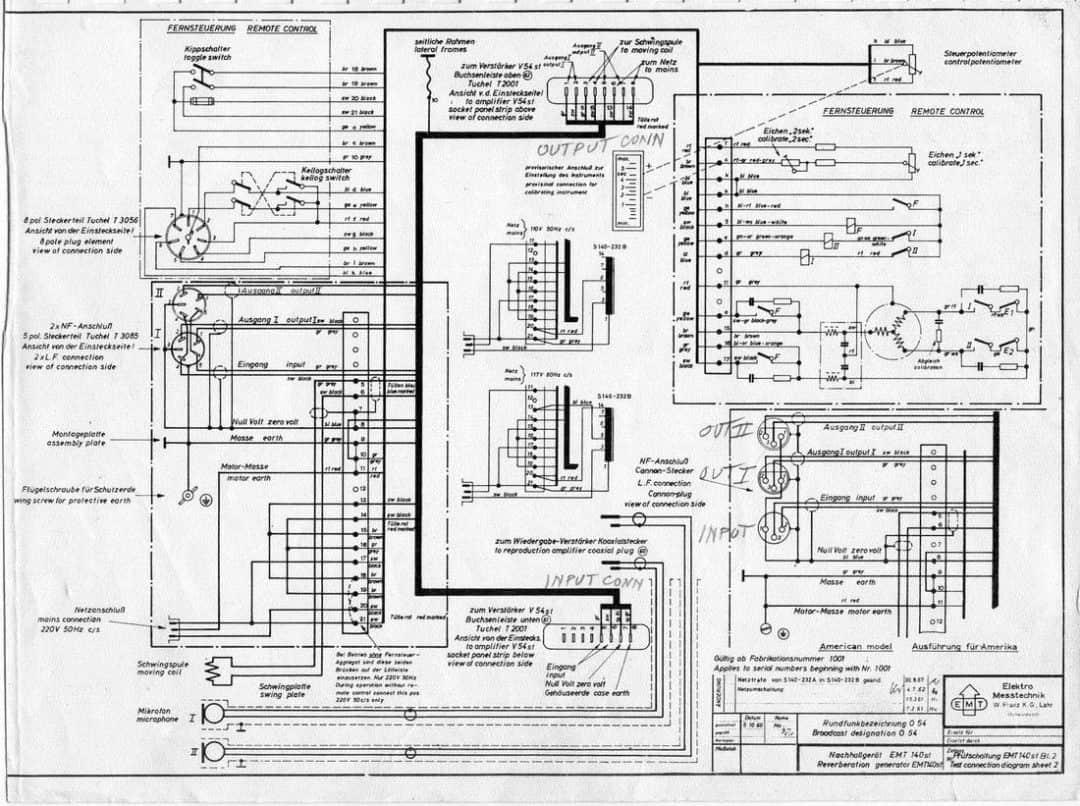 EMT 140 ST Schematic