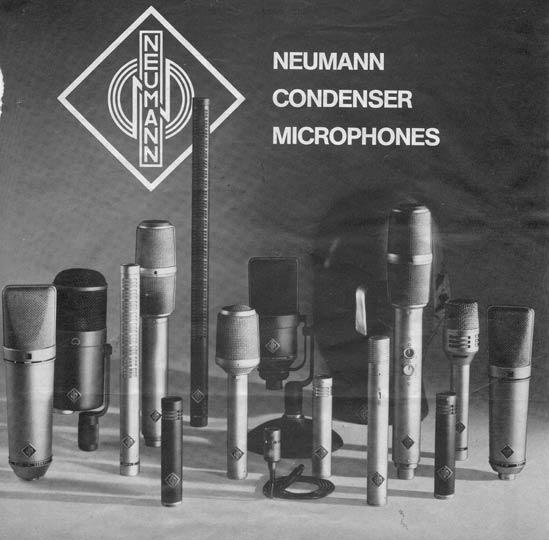 Neumann Condenser Microphone Brochure