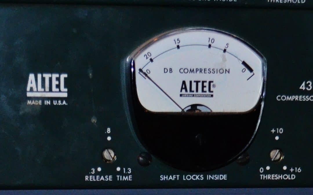 Altec 438 C Compressor