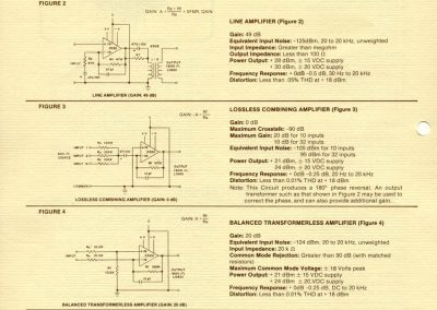 API Circuit Specification Sheet