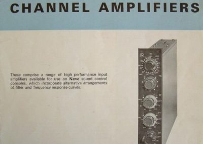 Neve Channel Amp Brochure