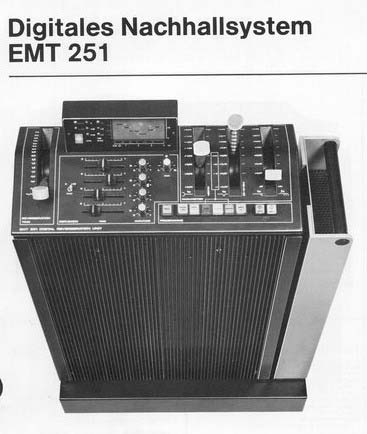 EMT 251 Digital Reverb