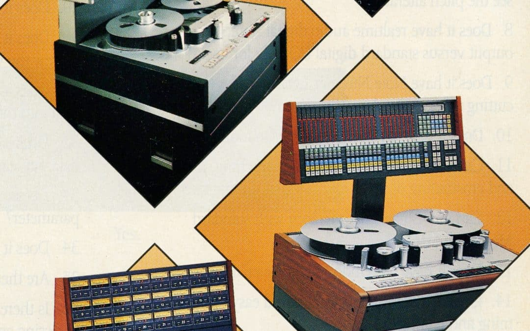 Studer Tape Recorder Advertiment
