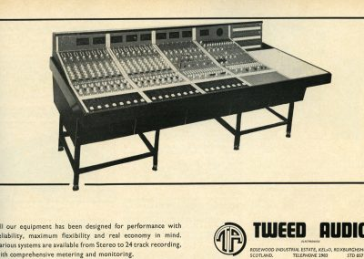 Tweed Mixing Console