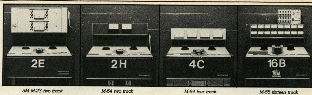 Mincom M Series Tape Recorders