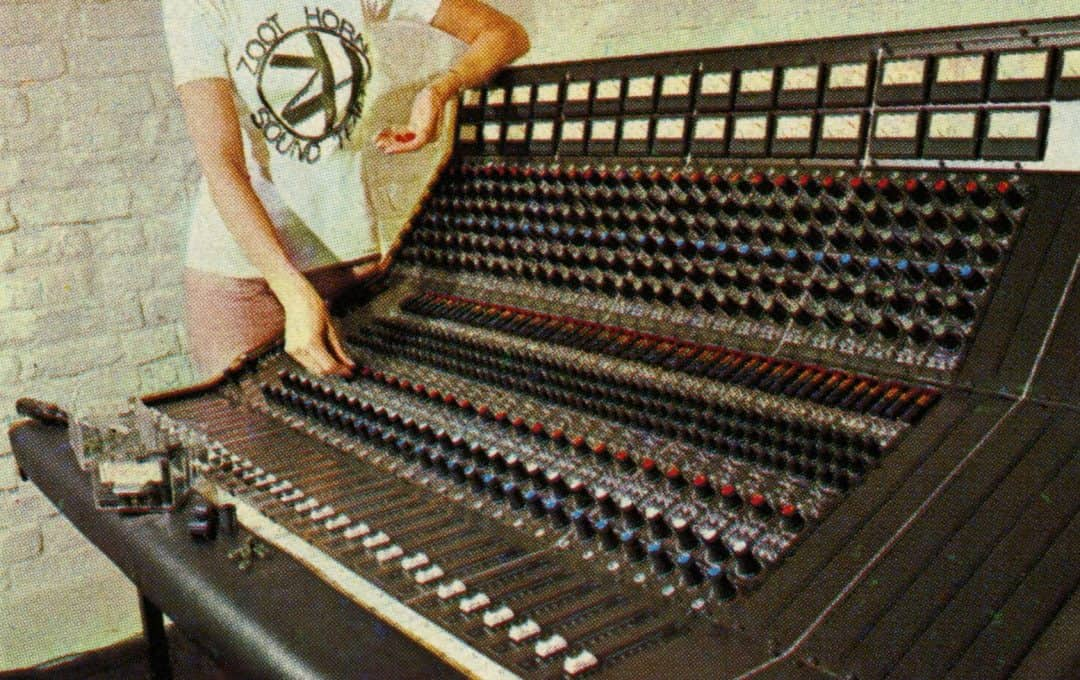 Audix Mixing Console