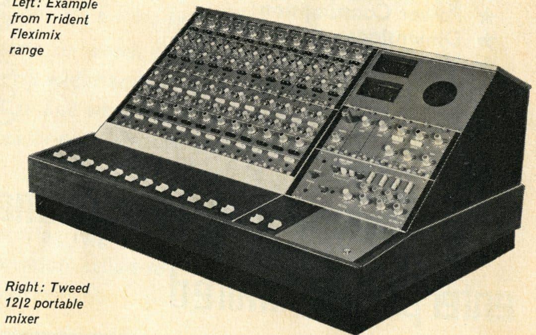 Tweed Portable Mixer