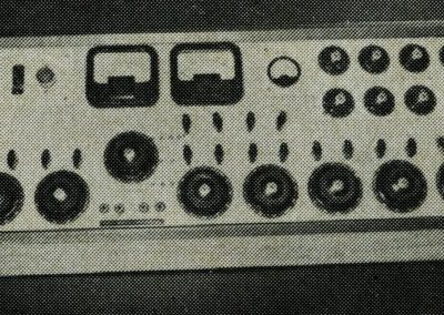 First Neve Console