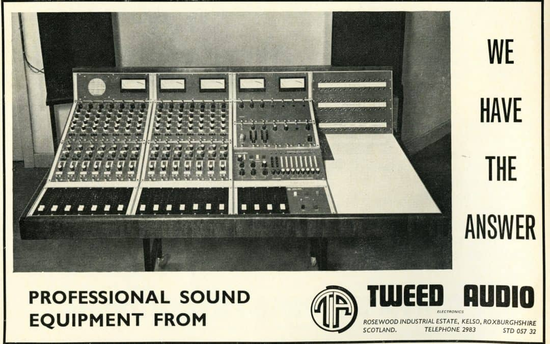Tweed Audio Advertisement