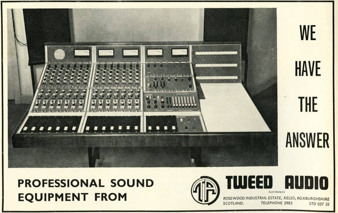 Tweed Audio Advertisement
