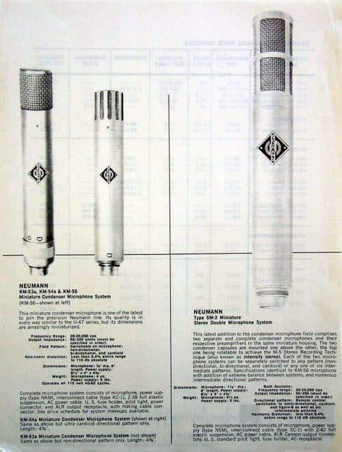 Neumann KM 53 Brochure