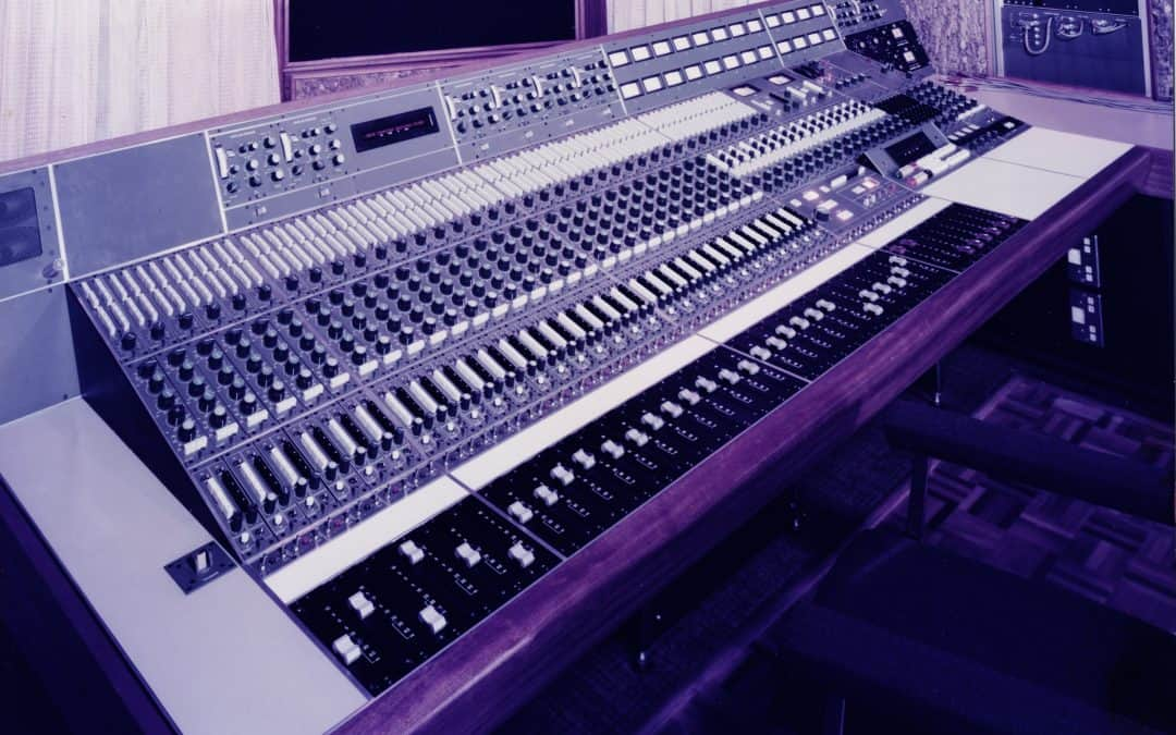 Neve Custom From AIR Studio 2