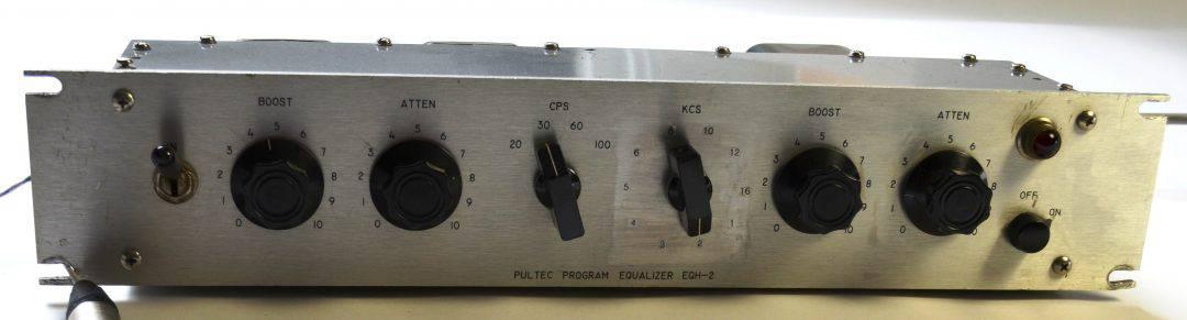 Pultec EQH-2 Silver Face