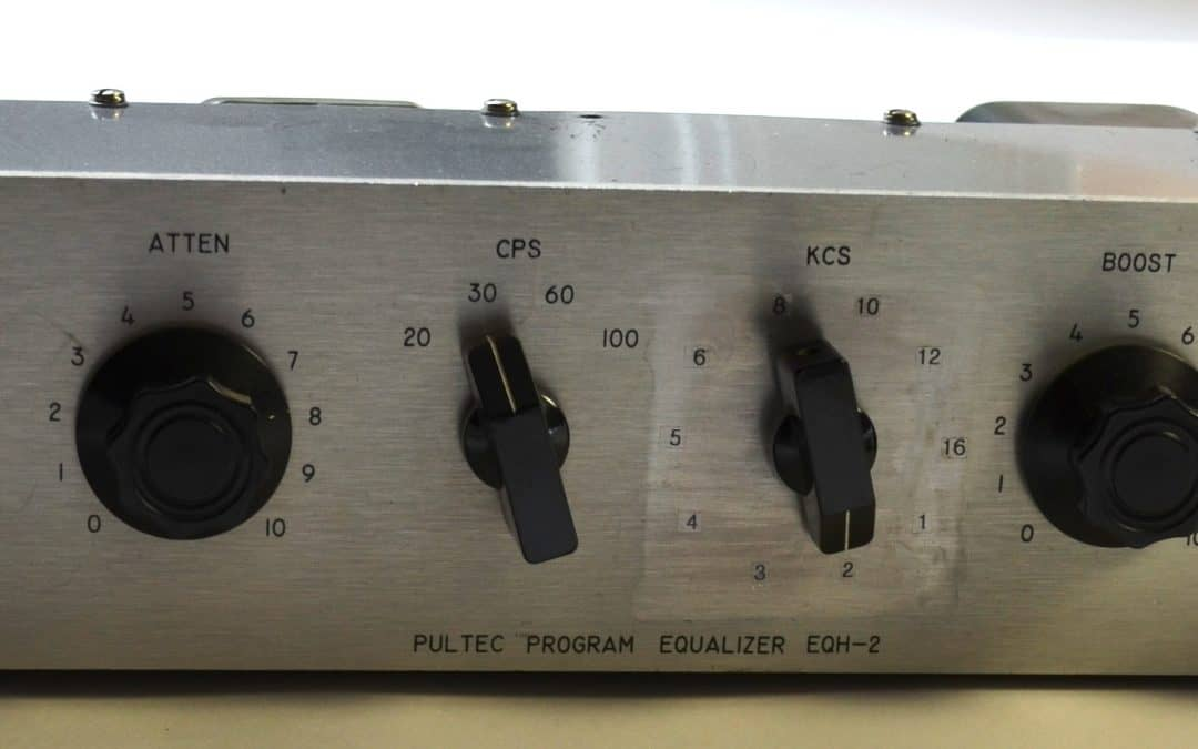 Pultec EQH-2 Silver Face