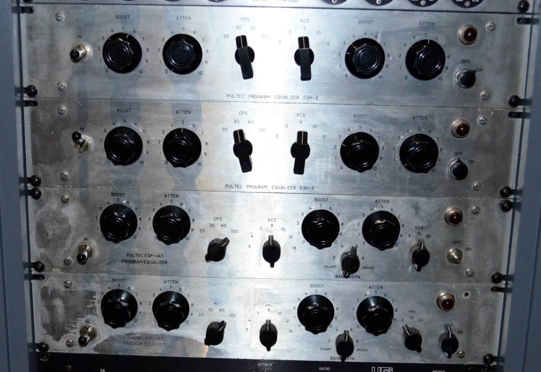 Pultec EQP-1A3 and EQH2