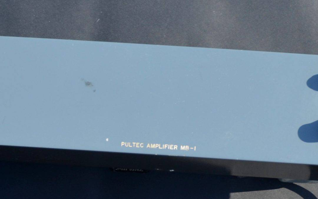 Pultec MB-1 Tube Microphone Preamp