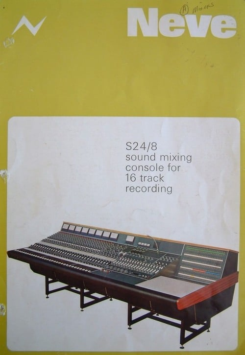 Neve S24/B 16 Track Mixing Console