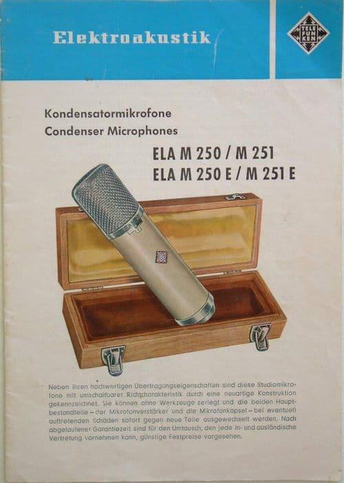 Telefunken ELA M 250/250 E Brochure Page