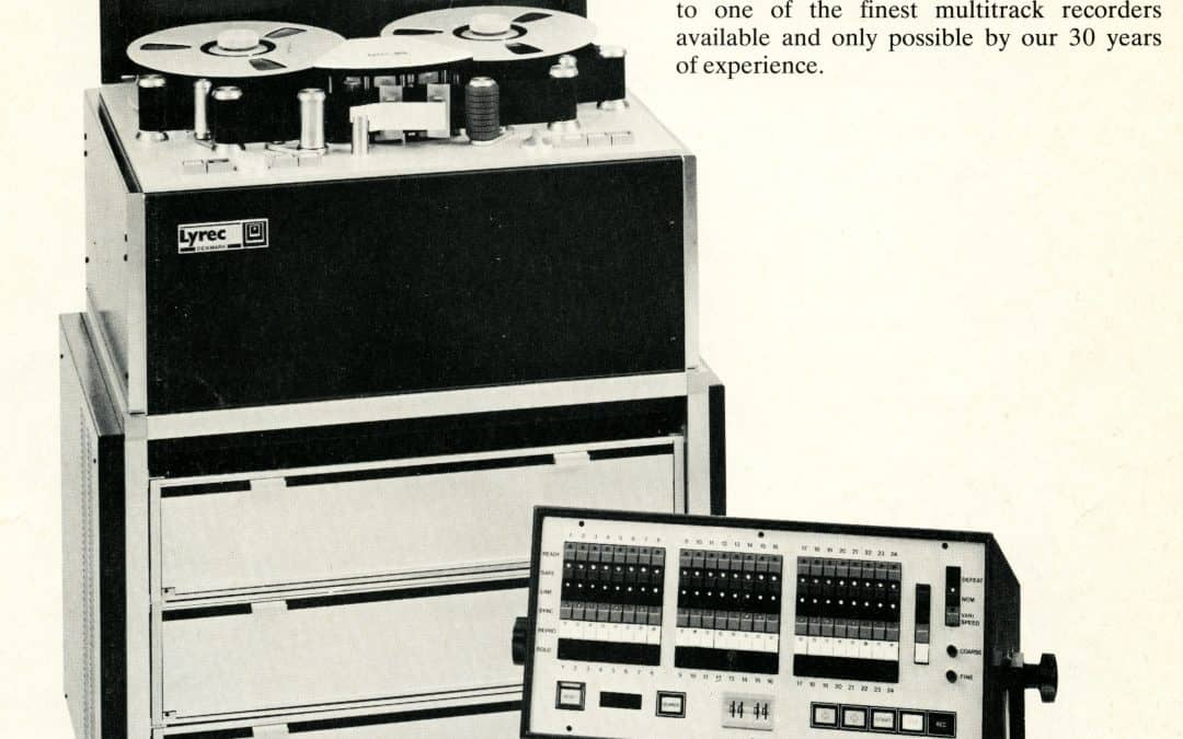 Lyrec TR532 Multitrack Tape Recorder