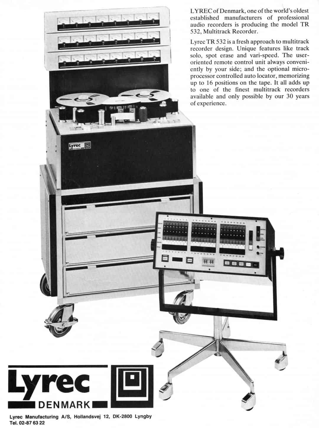 Lyrec TR 532 Advertisement