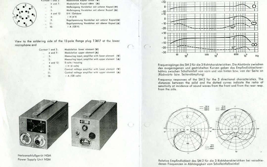 Neumann SM2 Information Sheet