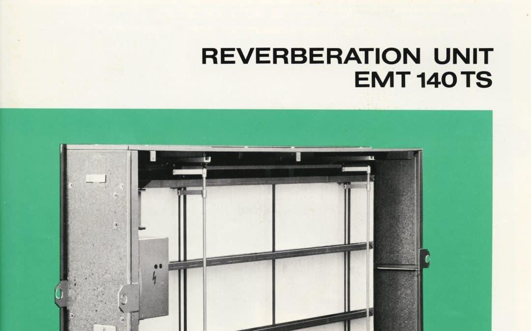 EMT 140 TS Reverb