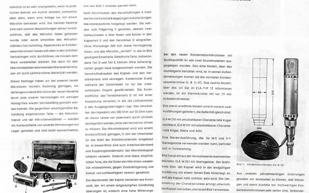 Telefunken Archives - Dan Alexander Audio