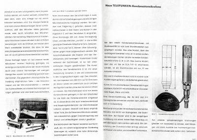 Telefunken Condenser Microphone Brochure